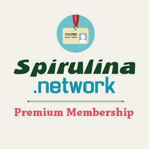 Spirulina network premium membership plan
