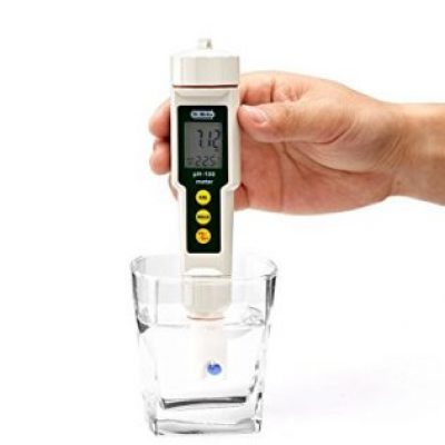 PH meter for testing Spirulina's Alkalinity
