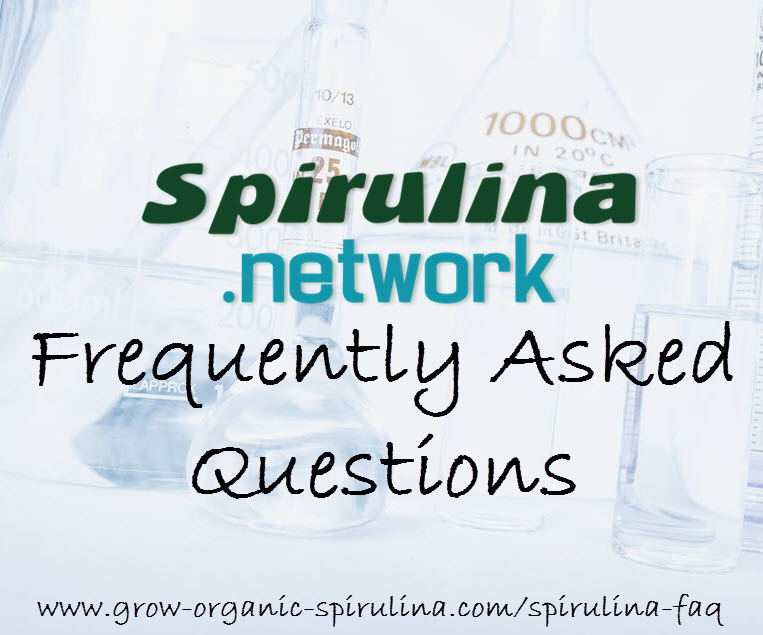 grow spirulina FAQ