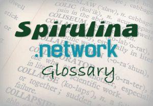 spirulina glossary