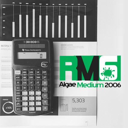 RM6 delhi mix formula for commercial spirulina cultivation