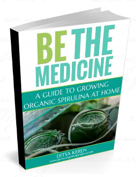 Be The Medicine- A Guide to Growing Organic Spirulina at Home- Learn how to Grow Organic Spirulina - A step by step guide