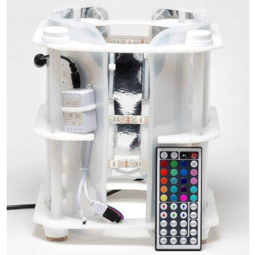 """12"""" Programmable LED Growth Chamber for LIVE MicroAlgae Cultures"""