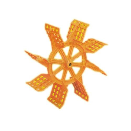 Spirulina production paddle-wheel-impeller